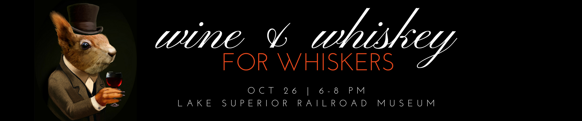 Enjoy wines, whiskies, and hors d'oeuvres while supporting wildlife
